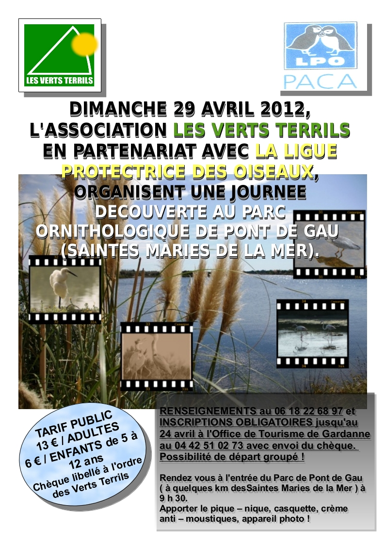affiche journee LPO 29 avril 2012
